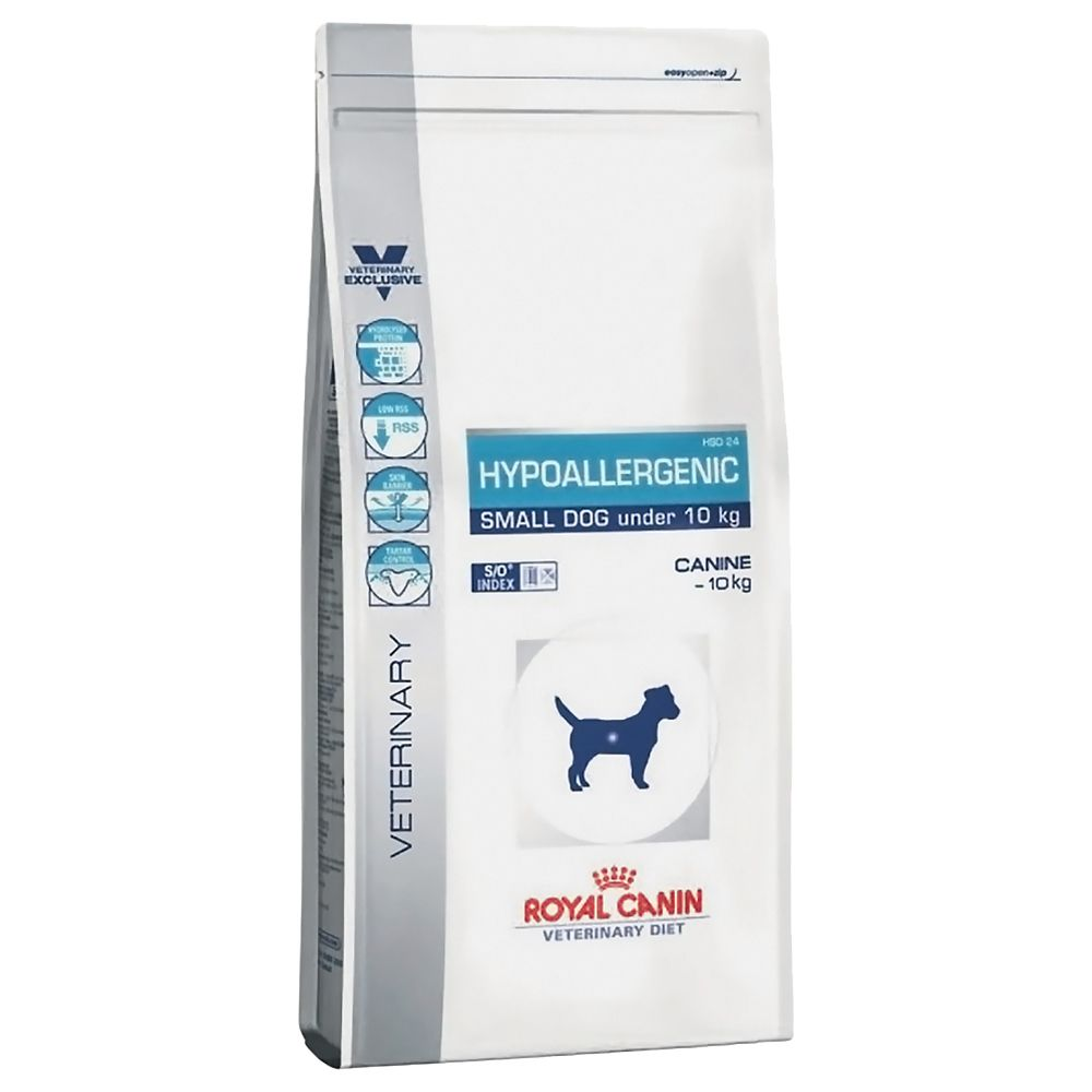 Royal Canin Veterinary Diet Dog - Hypoallergenic Small Dog - 3.5kg