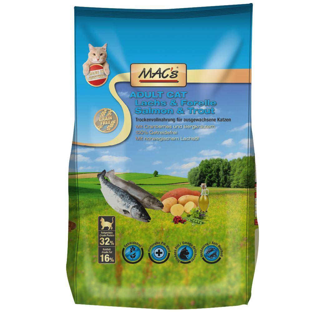 MAC's Cat Adult, łosoś i pstrąg - 1,5 kg
