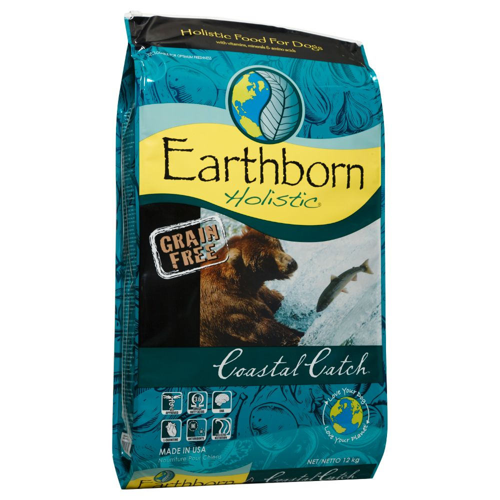 Earthborn Holistic Coastal Catch Dry Dog Food - 12kg