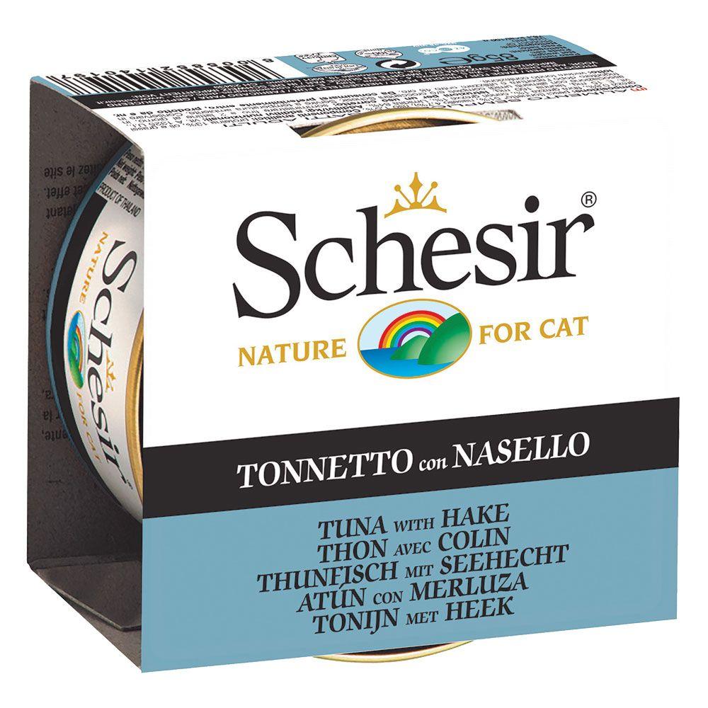 Schesir i gelé 6 x 85 g Kitten: Tonfisk & Aloe