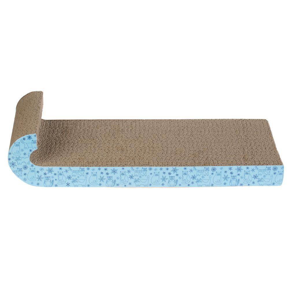 Cat Sledge Scratching Mat - 47.5 x 19 x 10 cm (L x W x H)