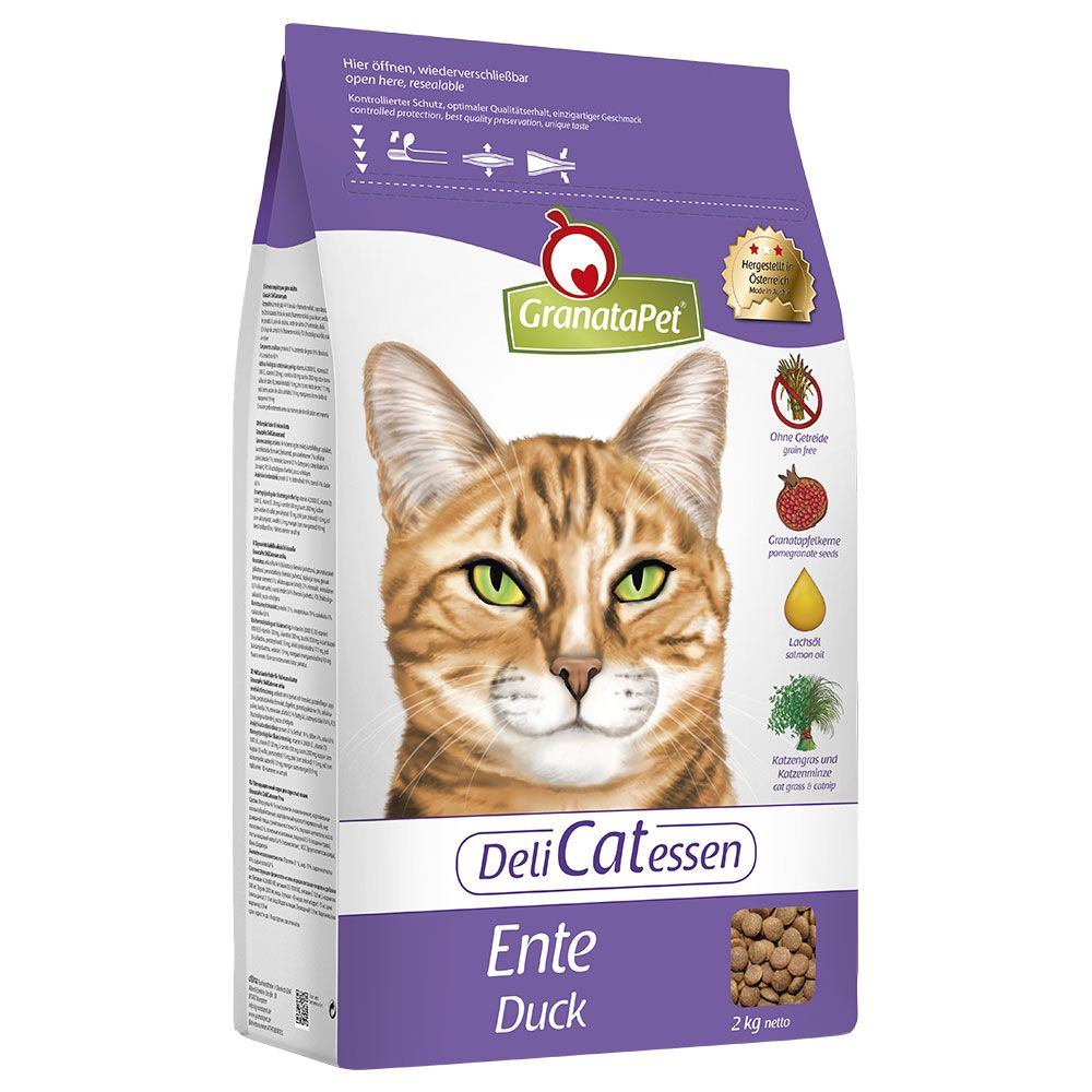 GranataPet DeliCatessen Adult Duck Dry Cat Food