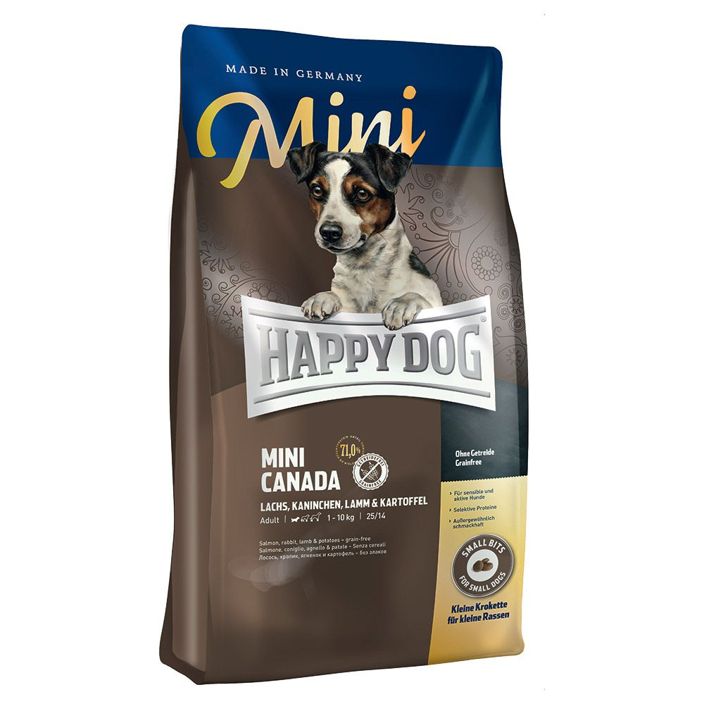 Happy Dog Supreme Mini Canada - Economy Pack: 2 x 4kg