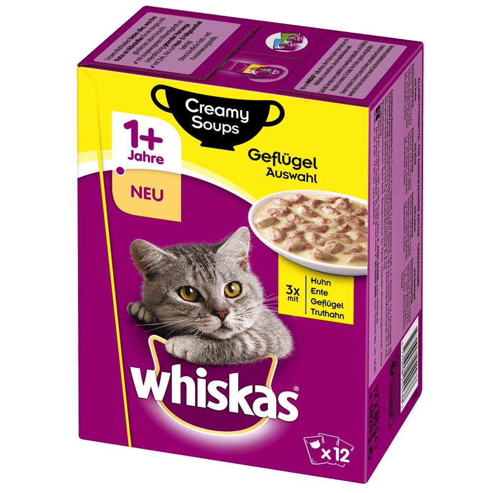 Whiskas 1+ Creamy Soup, 1
