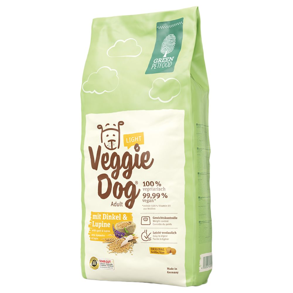 Green Petfood VeggieDog Light - 15kg