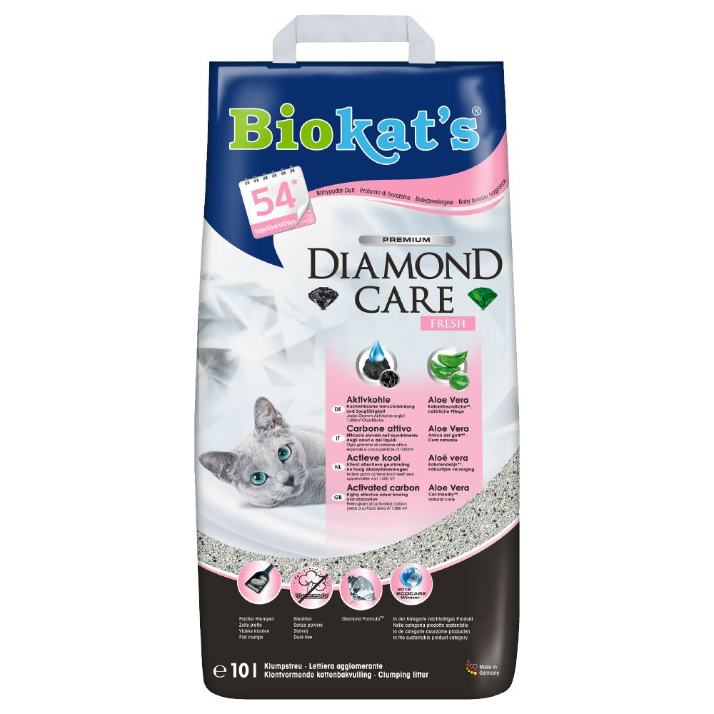 Image of Lettiera Biokat's Diamond Care Fresh - paletta igienica per lettiere Ultra