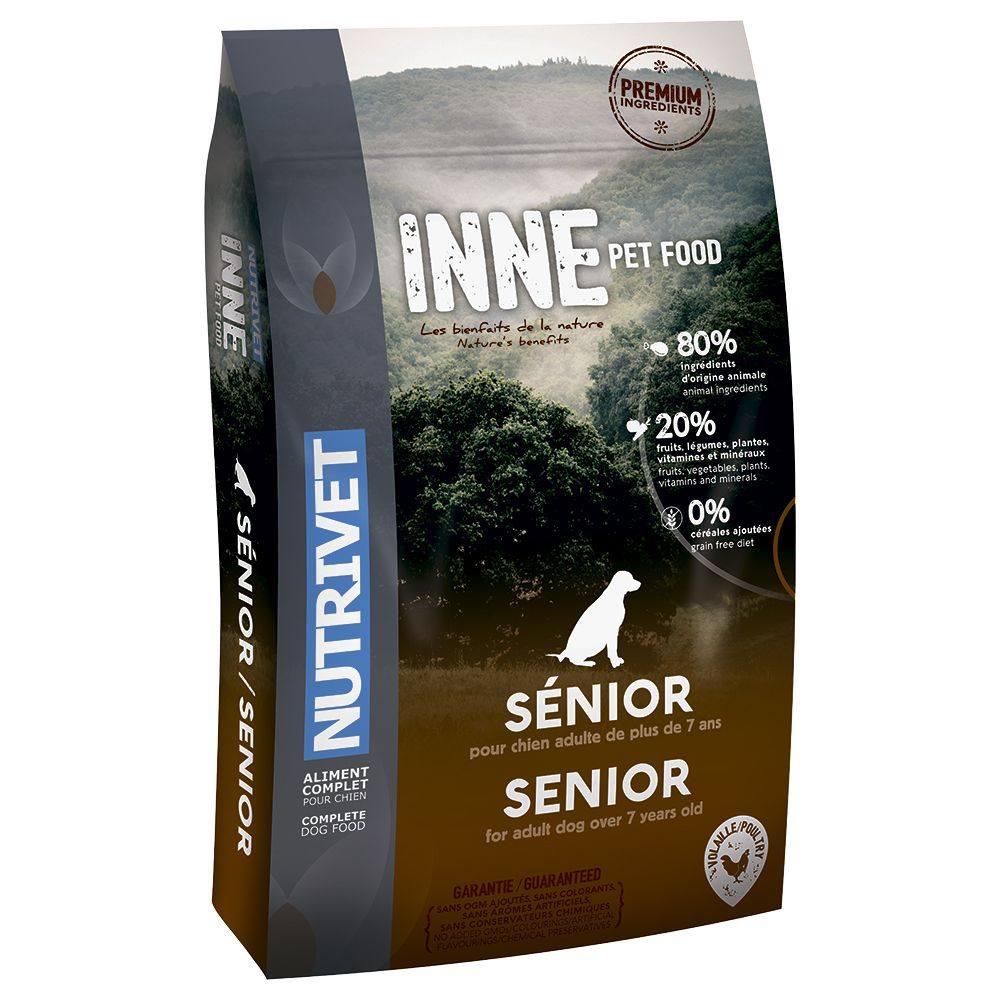 Nutrivet Inne Senior Dry Dog Food - 12kg
