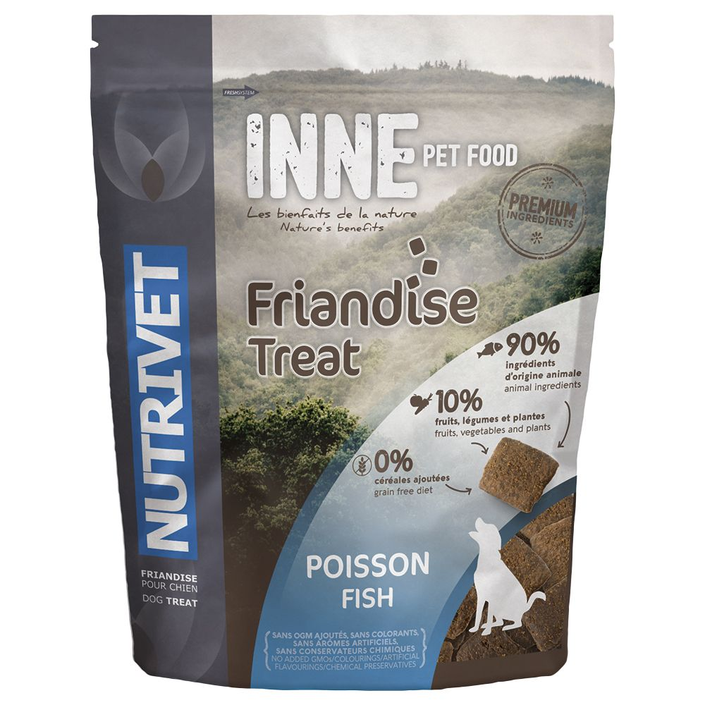 Nutrivet Inne Dog Treats - Fish - 250g