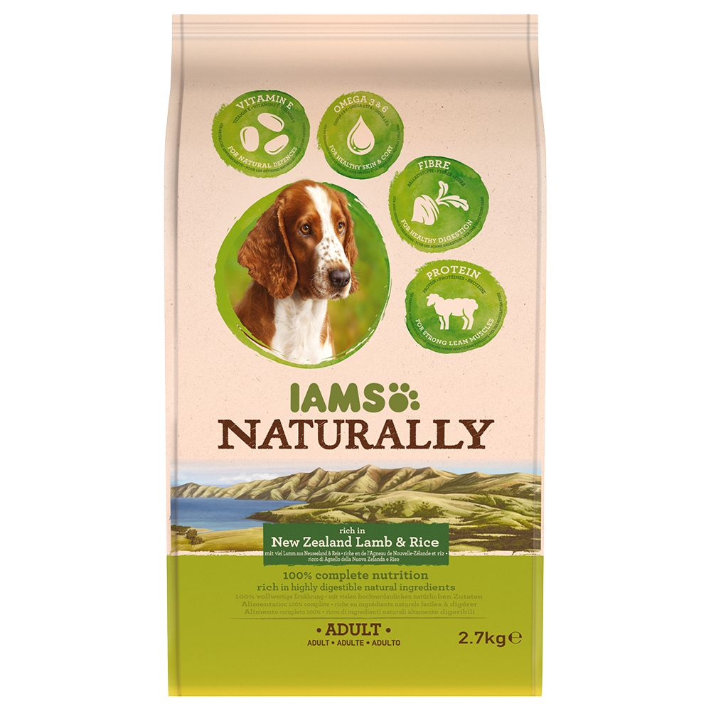 IAMS Naturally Dog Adult - Lamb - Economy Pack: 2 x 7kg