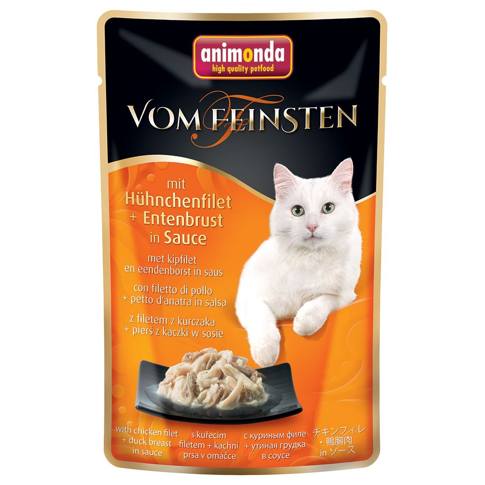 Animonda vom Feinsten Pouch Trial Pack 6 x 50g