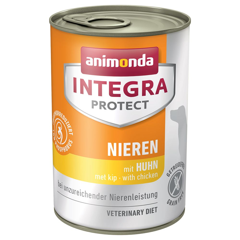 Animonda Integra Protect Renal i konservburk - Kyckling 6 x 400 g