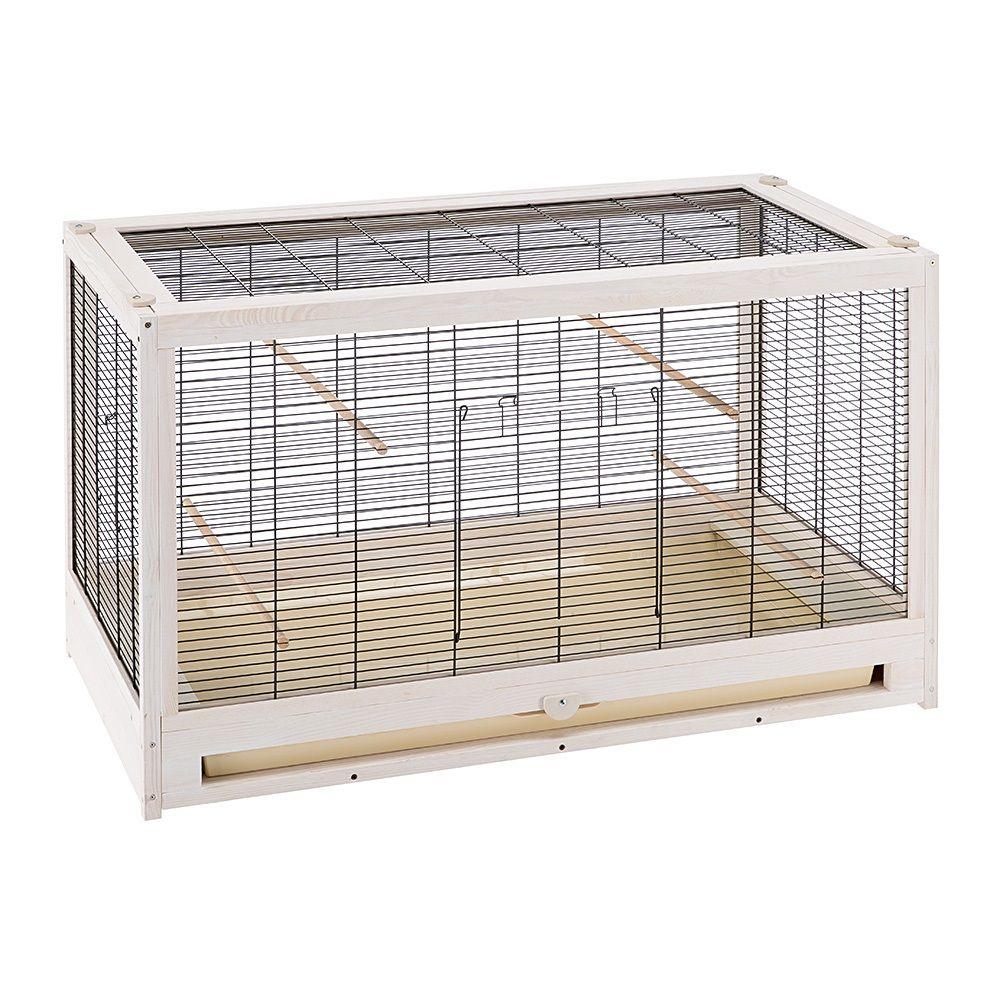Bianca fågelbur – L 100 x B 52,5 x H 61,5 cm
