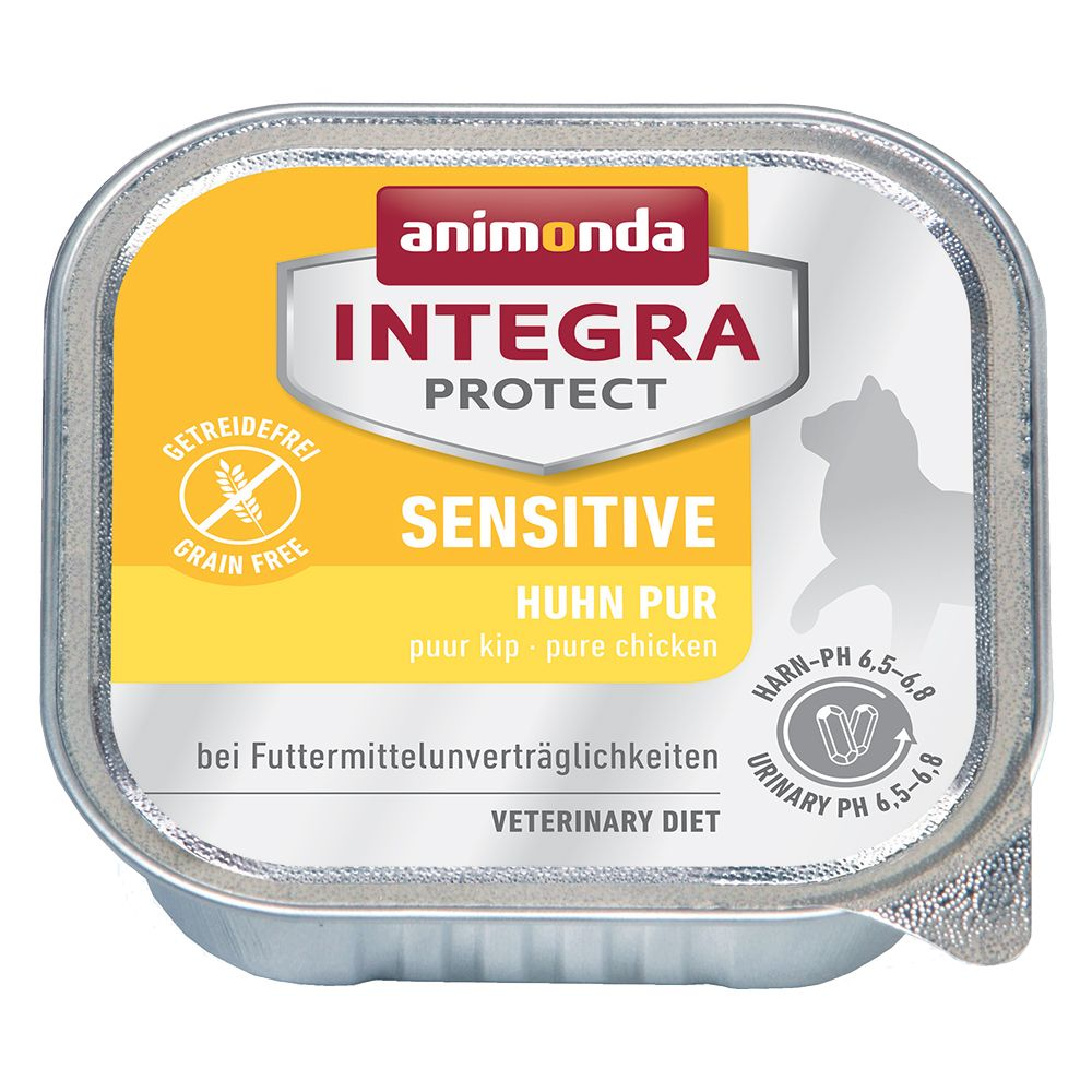 Sensitive Pure Chicken Animonda Integra Protect Wet Cat Food