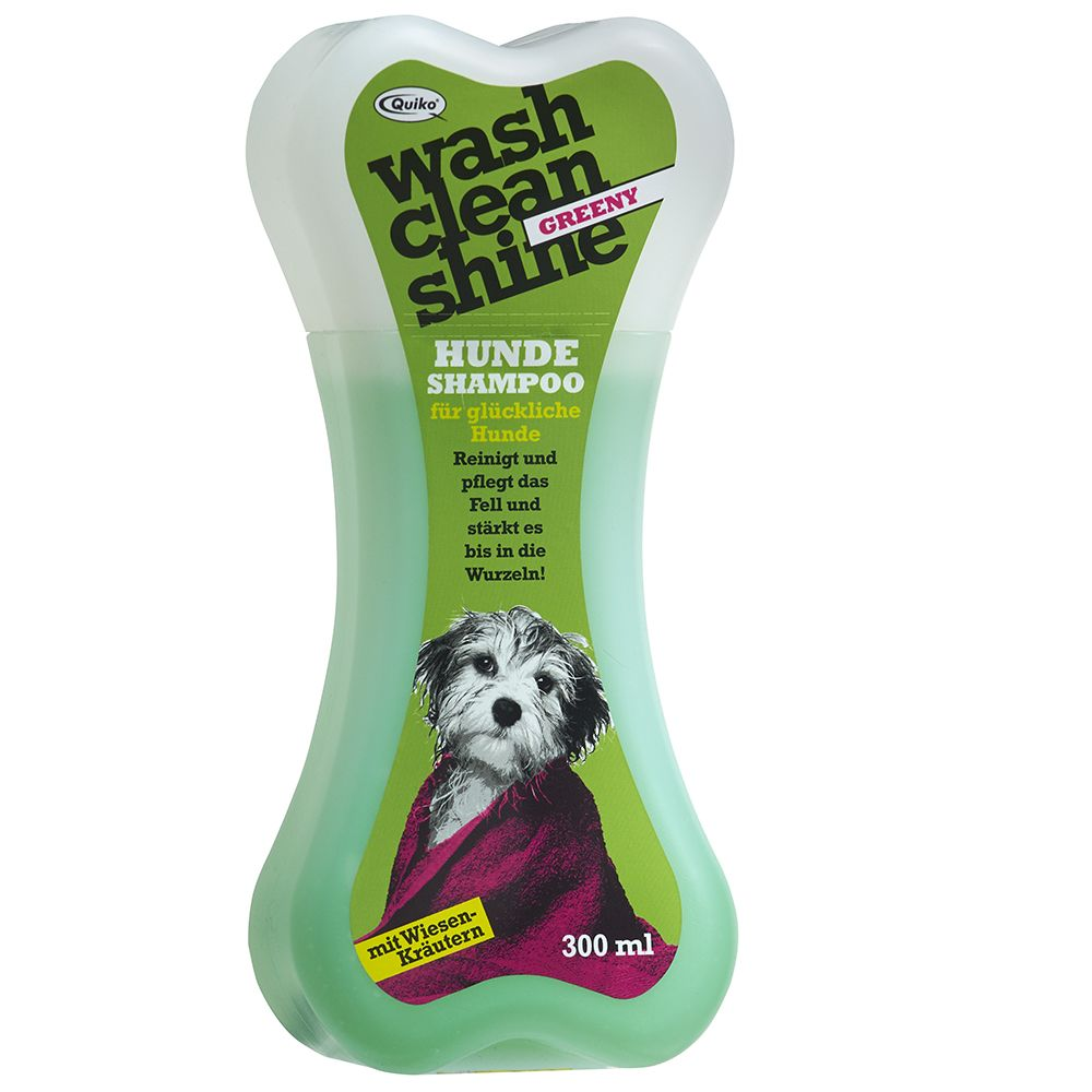 Quiko Wash Clean Shine Dog Shampoo Greeny