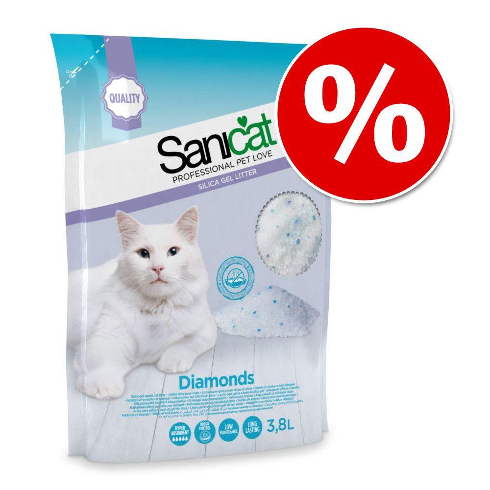 Sanicat Diamonds żwirek niezbrylający w super cenie! - 3,8 l