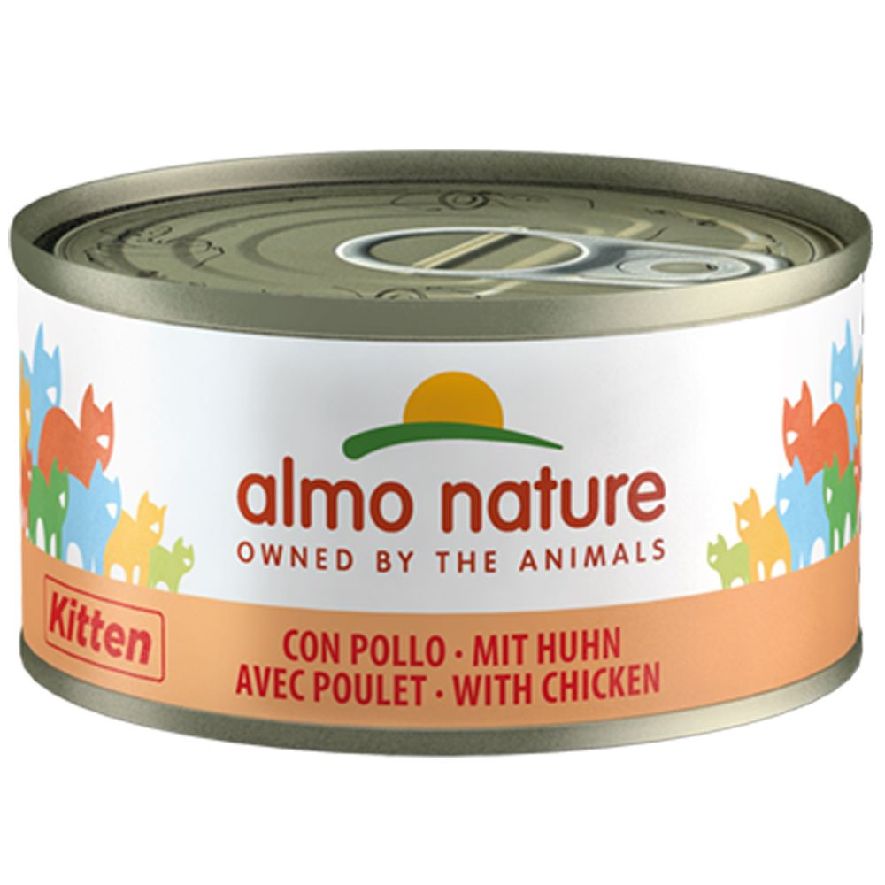 Kitten Chicken Legend Almo Nature Wet cat food