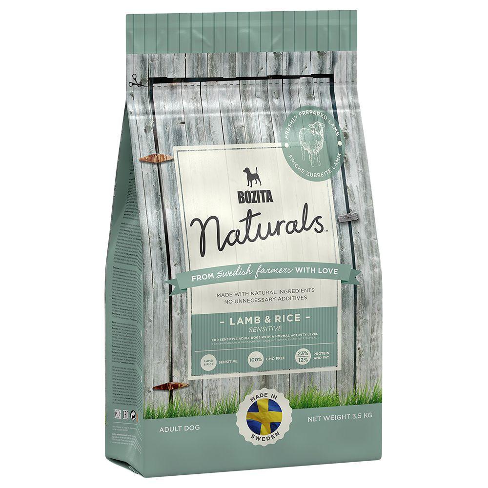 Bozita Naturals Lamm & Reis - Sparpaket: 2 x 12 kg