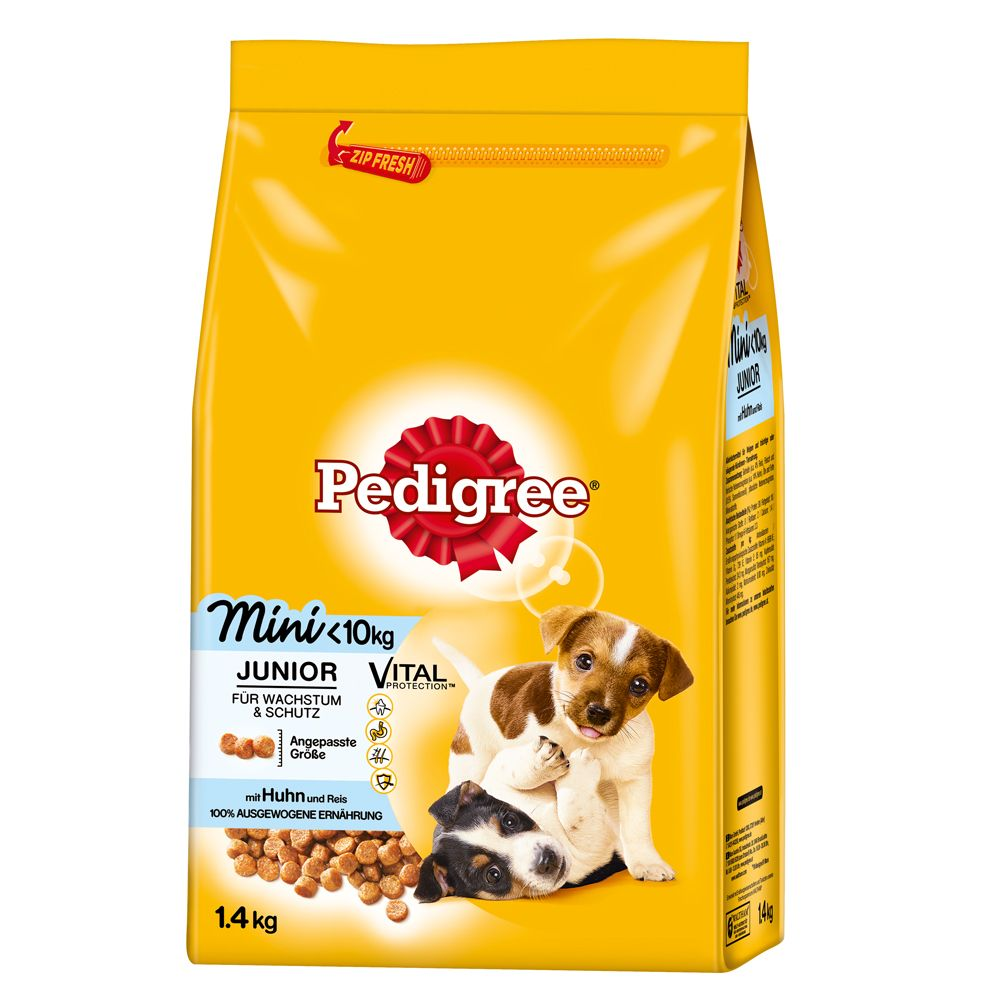 Chien Croquettes Pedigree Pedigree Junior