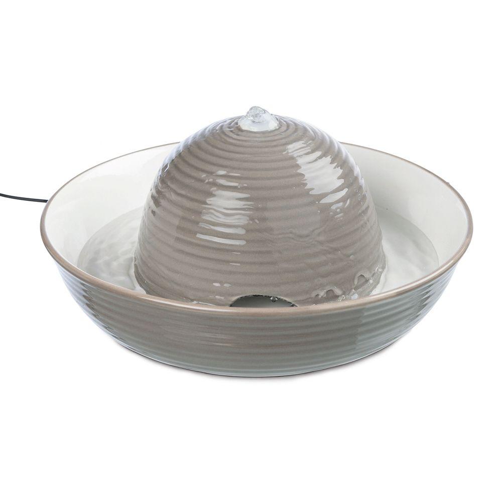 Trixie Vital Flow vattenfontän av keramik - Vital Flow vattenfontän 1,5 l