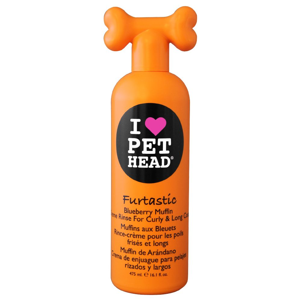 The Furtastic Creme Rinse Conditioner by Pet Head has been specially developed for dogs with curly or long fur. Made with wheat proteins, it nourishes and strength...