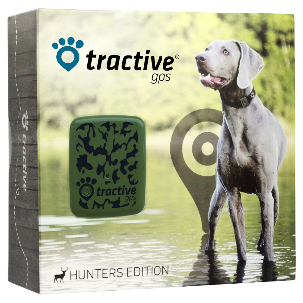Tractive GPS Pet Tracker Hunters Edition - 1 Stück