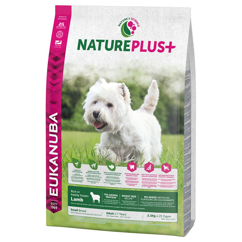 Eukanuba NaturePlus+ Small Adult