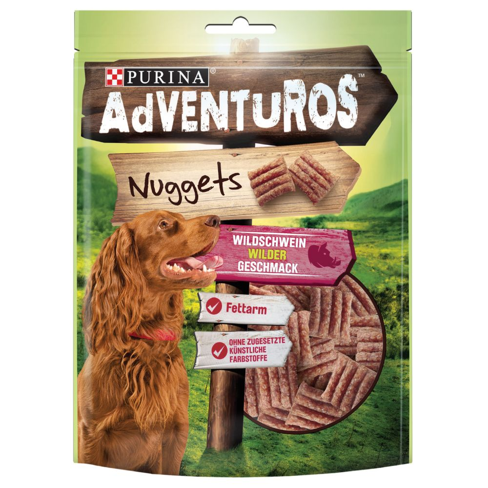 Purina Dentalife Snacks Mega Pack + 2 x 90g AdVENTuROS Nuggets - 15% Off!* - Purina Dentalife - Small (70 Snacks) + AdVENTuROS Nuggets (2 x 90g)