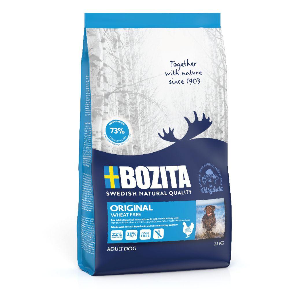 12,5kg Original sans blé Bozita - Croquettes pour chien