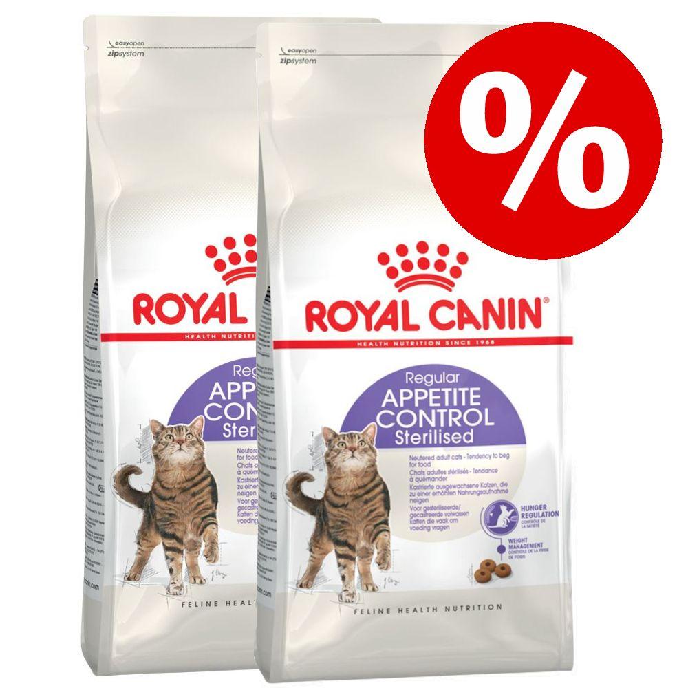 50 kr rabatt på 2 x stora påsar Royal Canin kattfoder! - Sterilised Appetite Control 2 x 10 kg