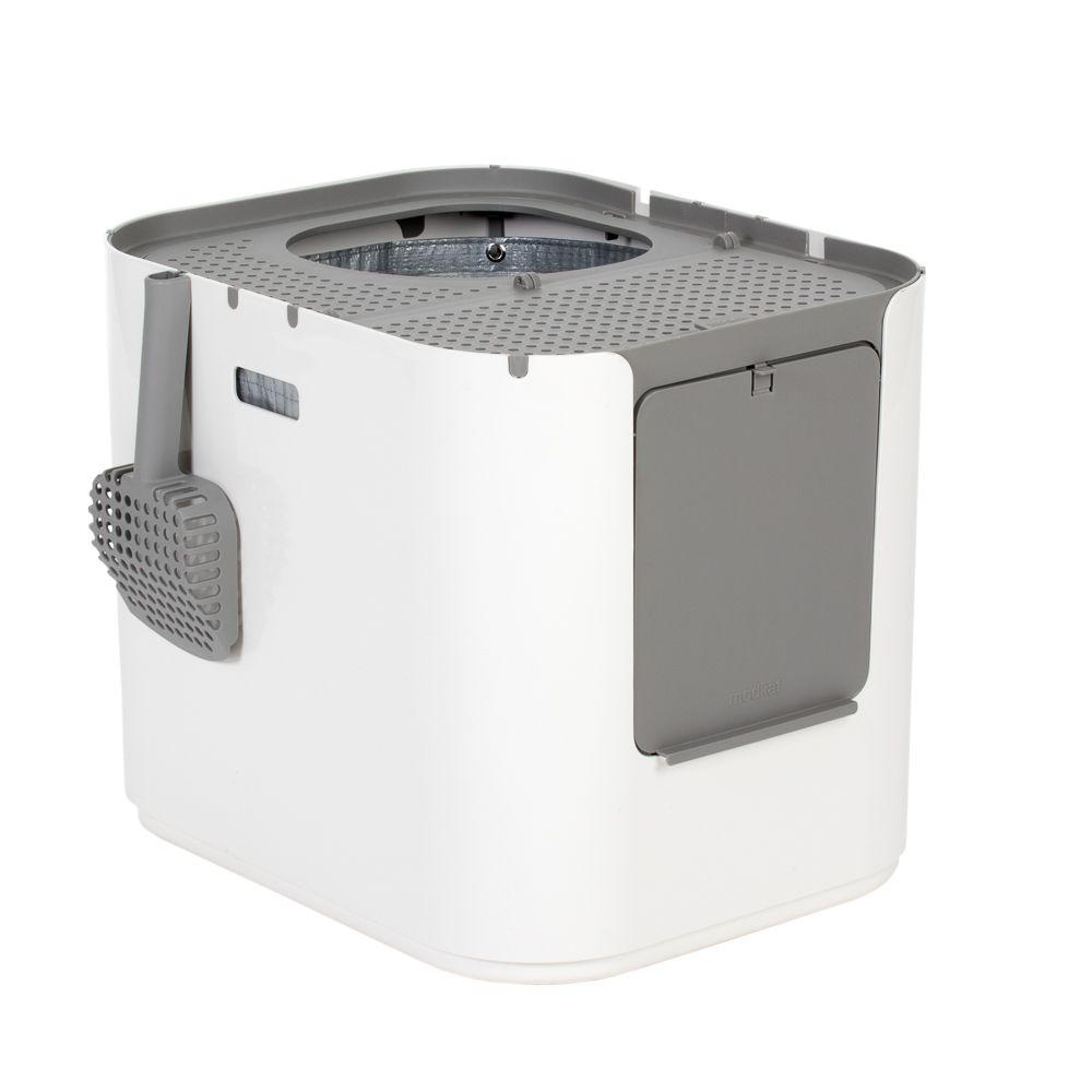Modkat XL Cat Litter Box - White