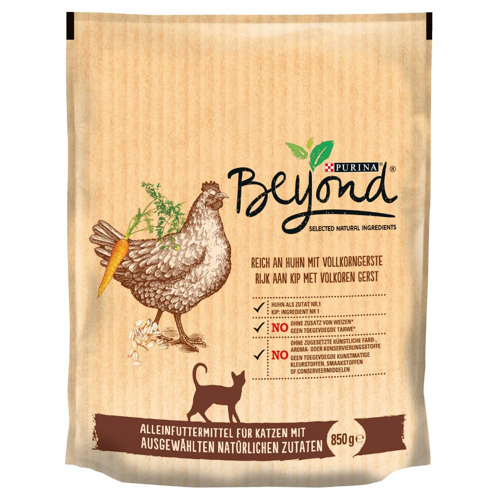 850g Purina Beyond Dry Cat Food