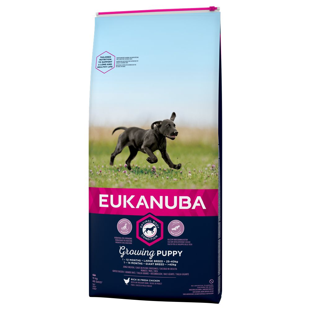 Chicken Large Breed Growing Puppy Eukanuba Dry Dog Food