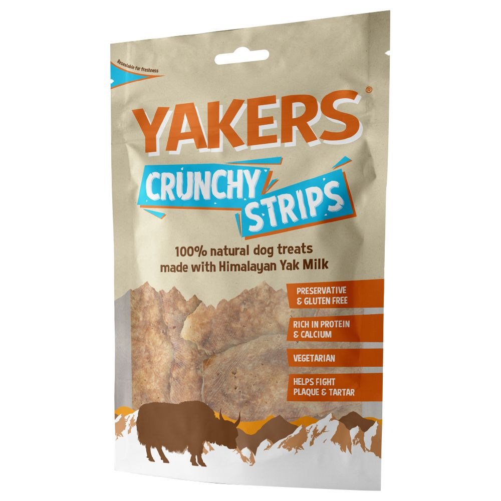 Yakers Crunchy Strips