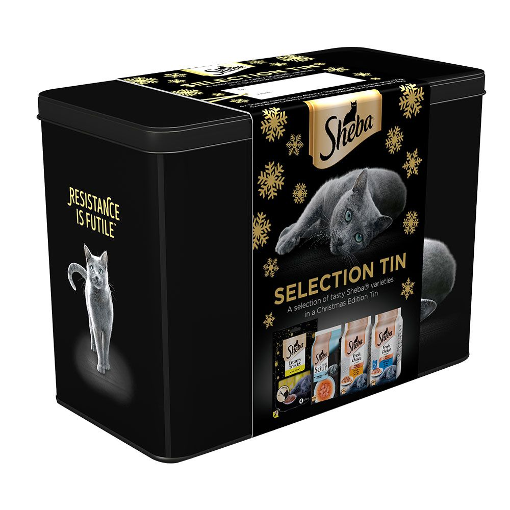 Sheba Festive Selection Tin