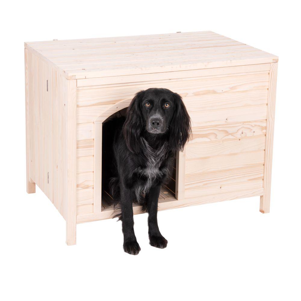 Hundehütte Bruno - Grösse L: B 115 x T 74,5 x H 83 cm