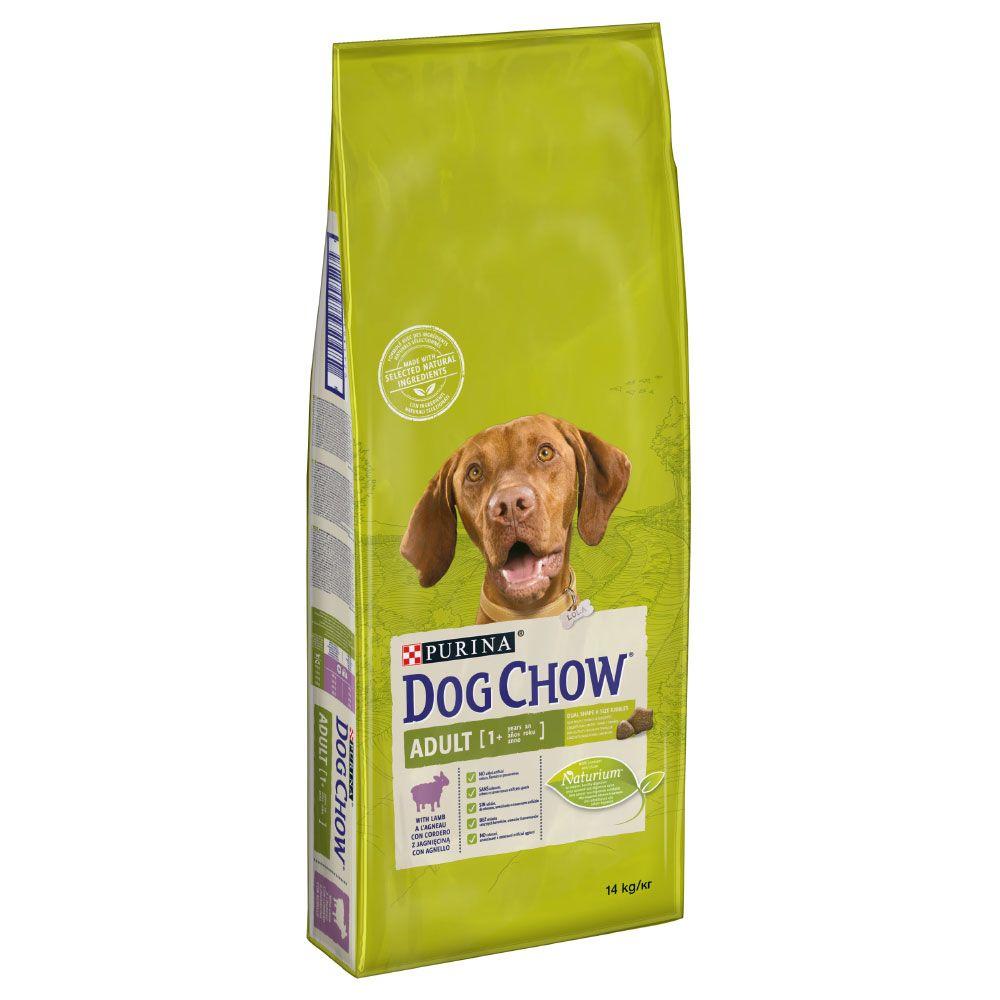 Ekonomipack: 2 x 14 kg Purina Dog Chow torrfoder - Adult Active Chicken (2 x 14 kg)