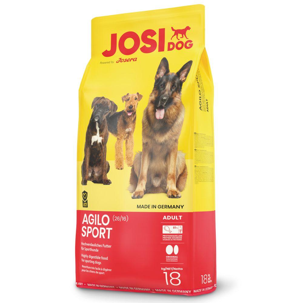 18kg Agilo Sport JosiDog Dry Dog Food