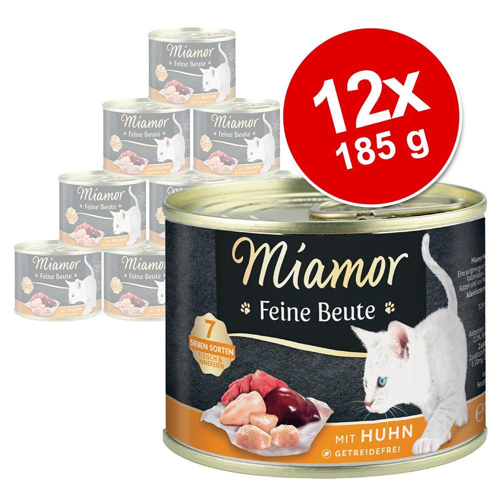 Miamor Feine Beute 12 x 185 g - Lachs