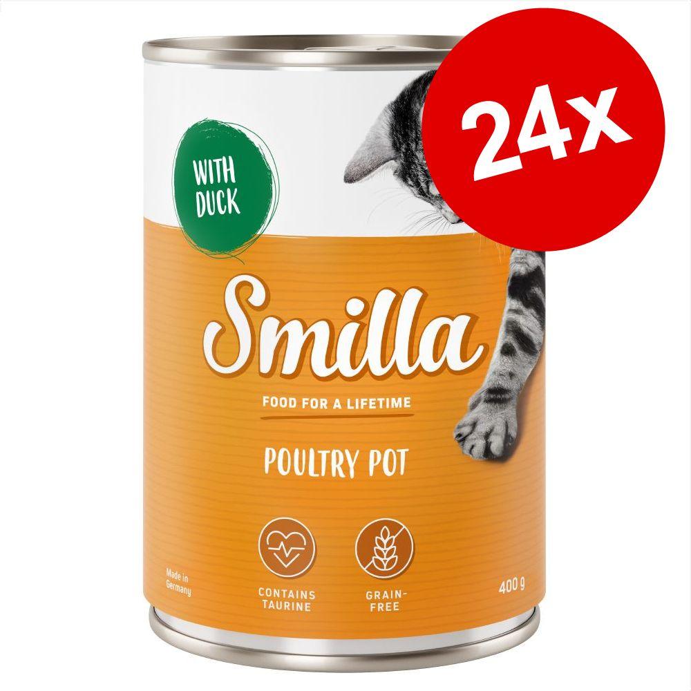 Smilla Pot 24 x 400 / 800 g till kanonpris! - Poultry Pot Fågelkött & fisk 24 x 800 g