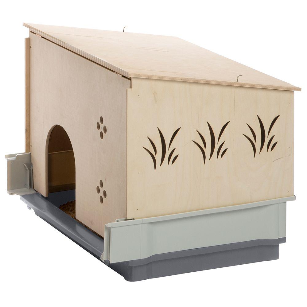 Ferplast Plaza 160 Small Pet Cage Grey