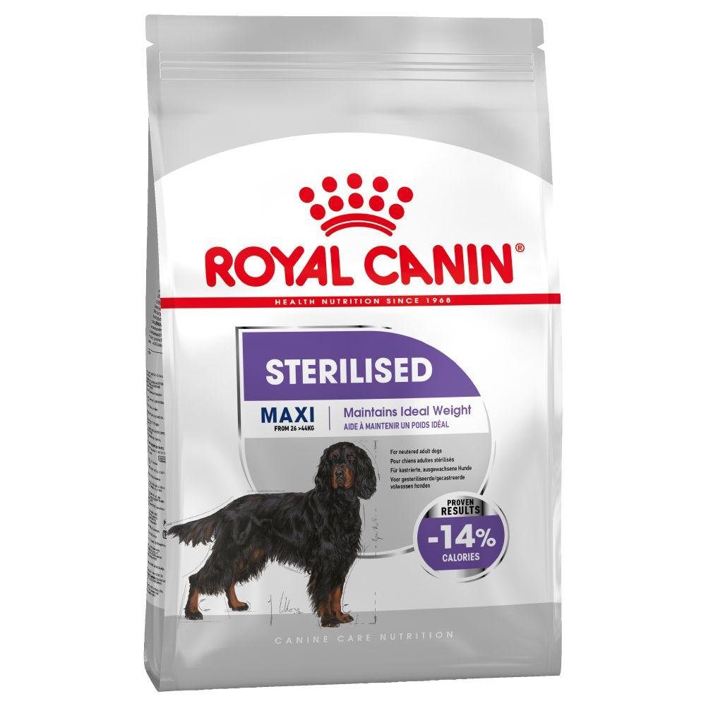 Royal Canin Maxi Sterilised - Economy Pack: 2 x 9kg