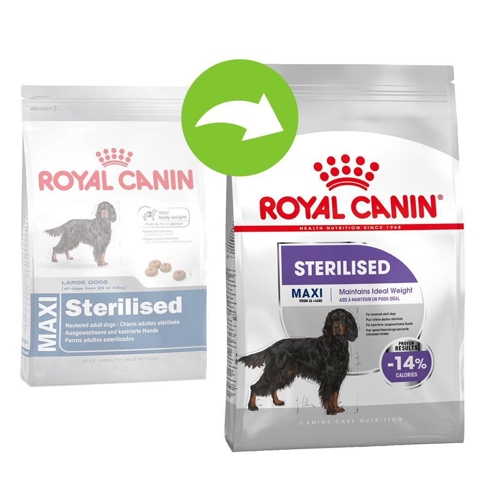 Royal Canin Maxi Adult Sterilised - Varčno pakiranje: 2 x 9 kg