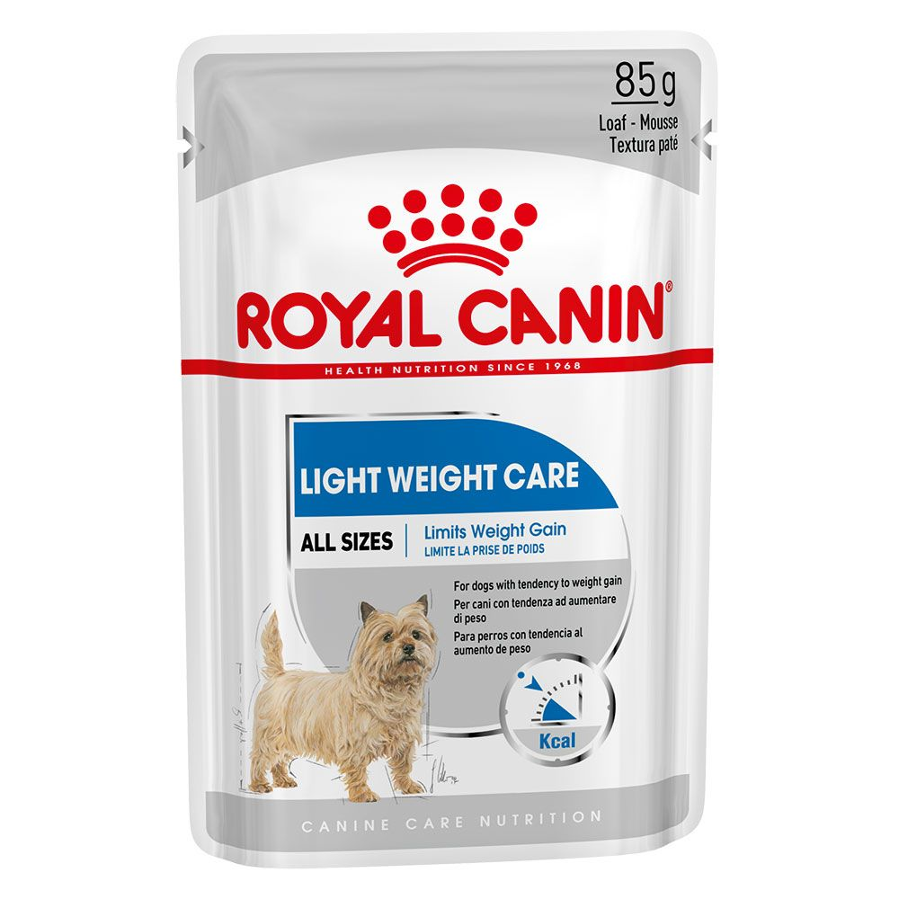 12x85g Light Weight Care Wet Care Nutrition Royal Canin Wet Dog Food