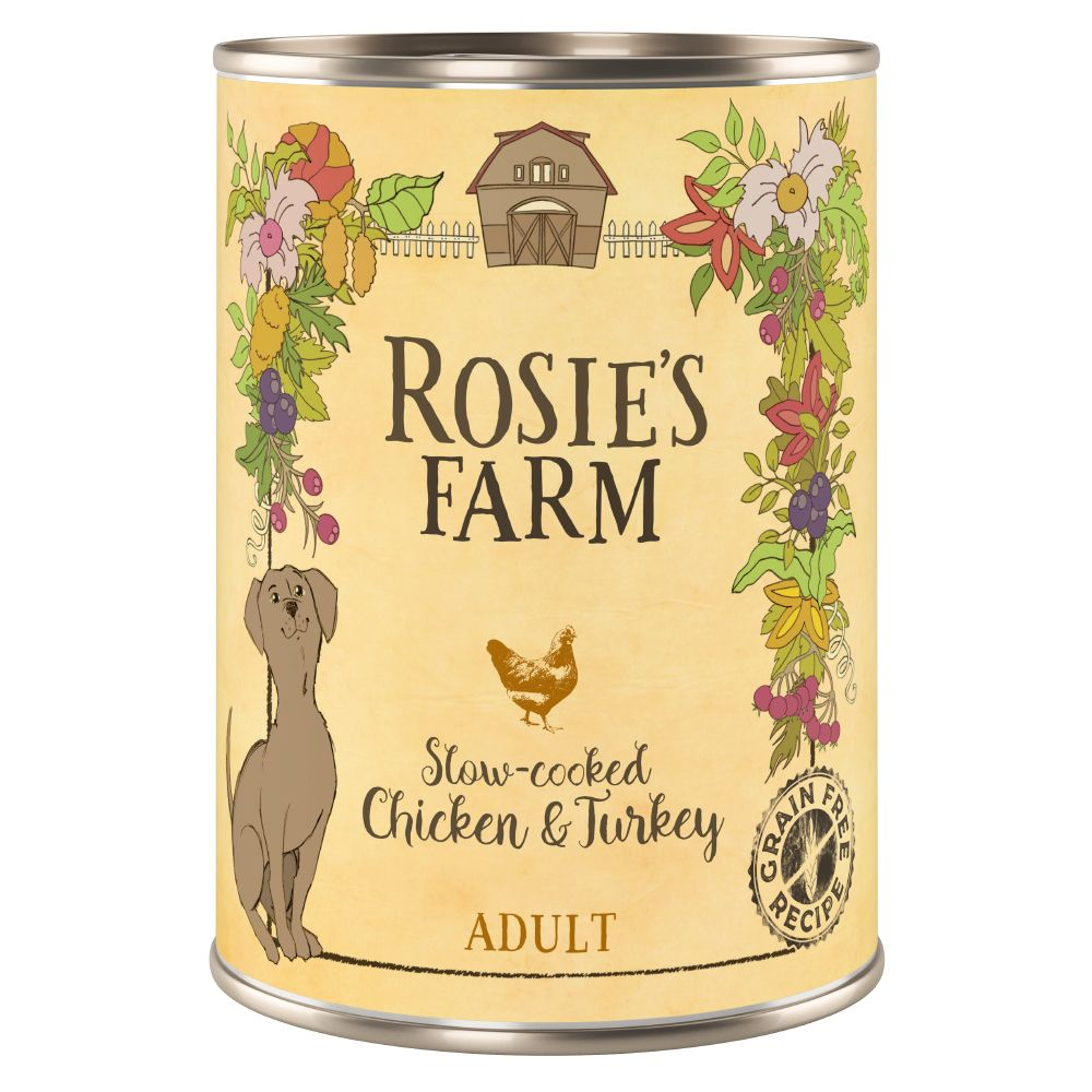 Chicken & Turkey Adult Wet Dog Food Rosie's Farm