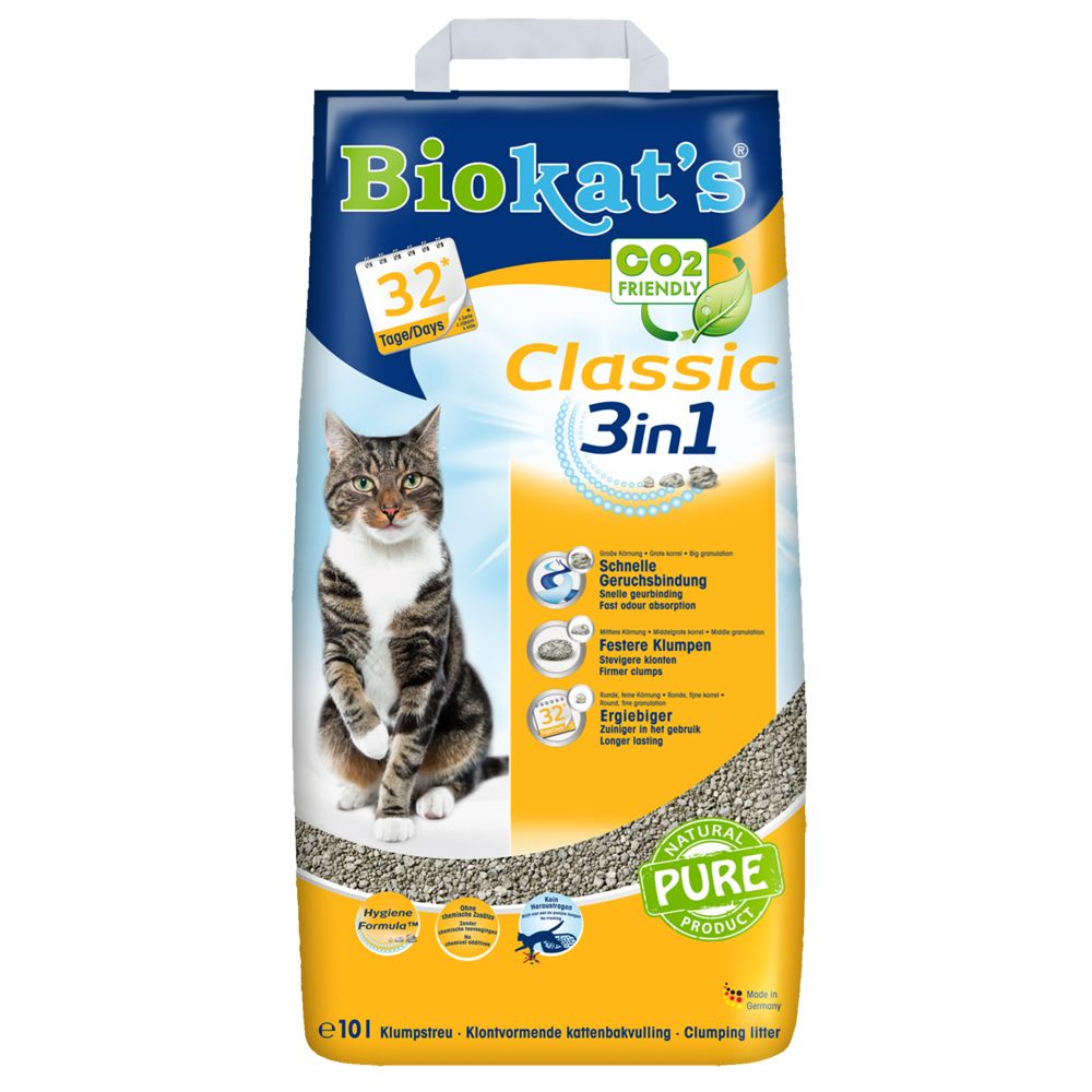 Classic Fresh 3in1 Biokat's Cat Litter