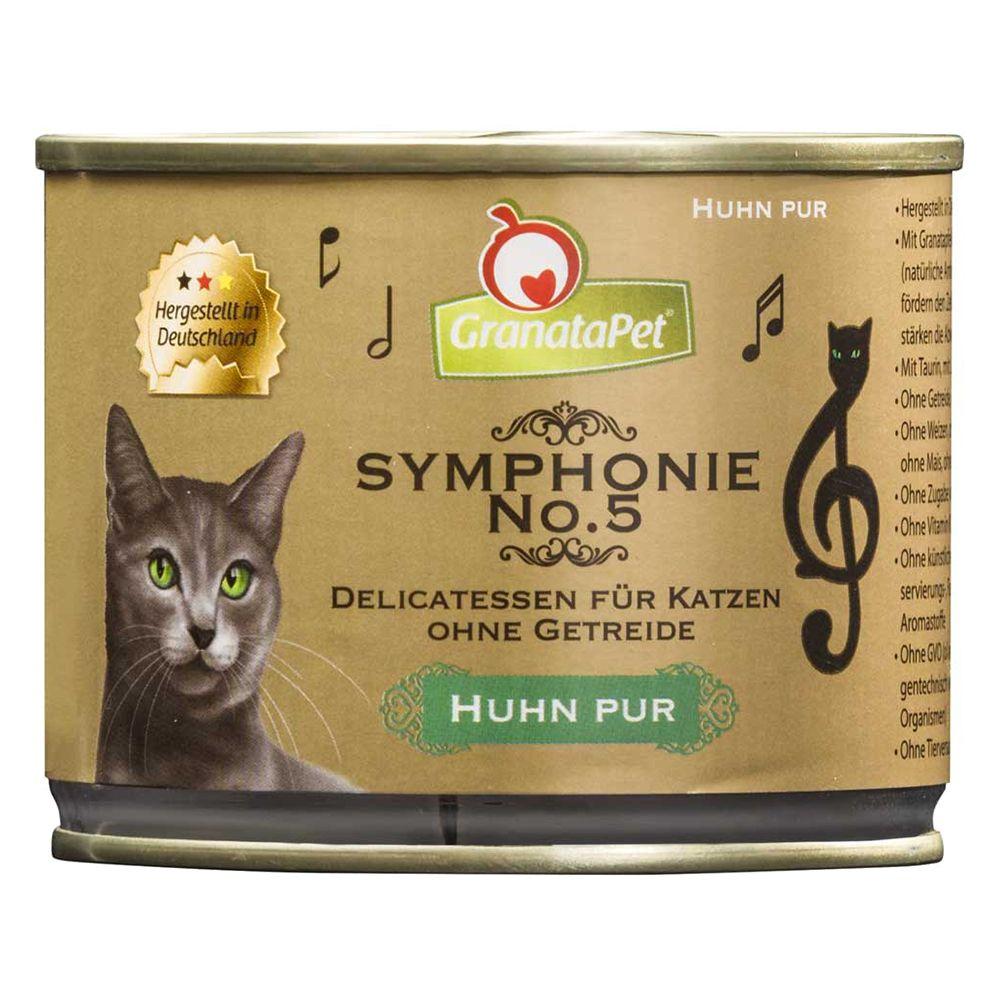 GranataPet Symphonie 6 x 200 g - Lachs & Pute