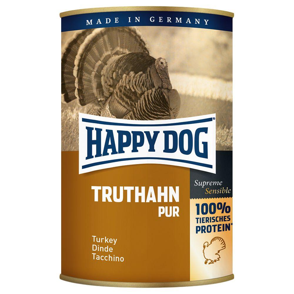 12 x 400g Happy Dog Pure Wet Dog Food