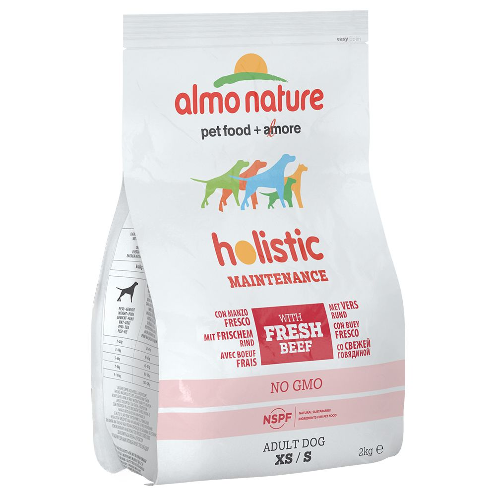 Almo Nature Holistic Dog Food - Small Adult Beef & Rice