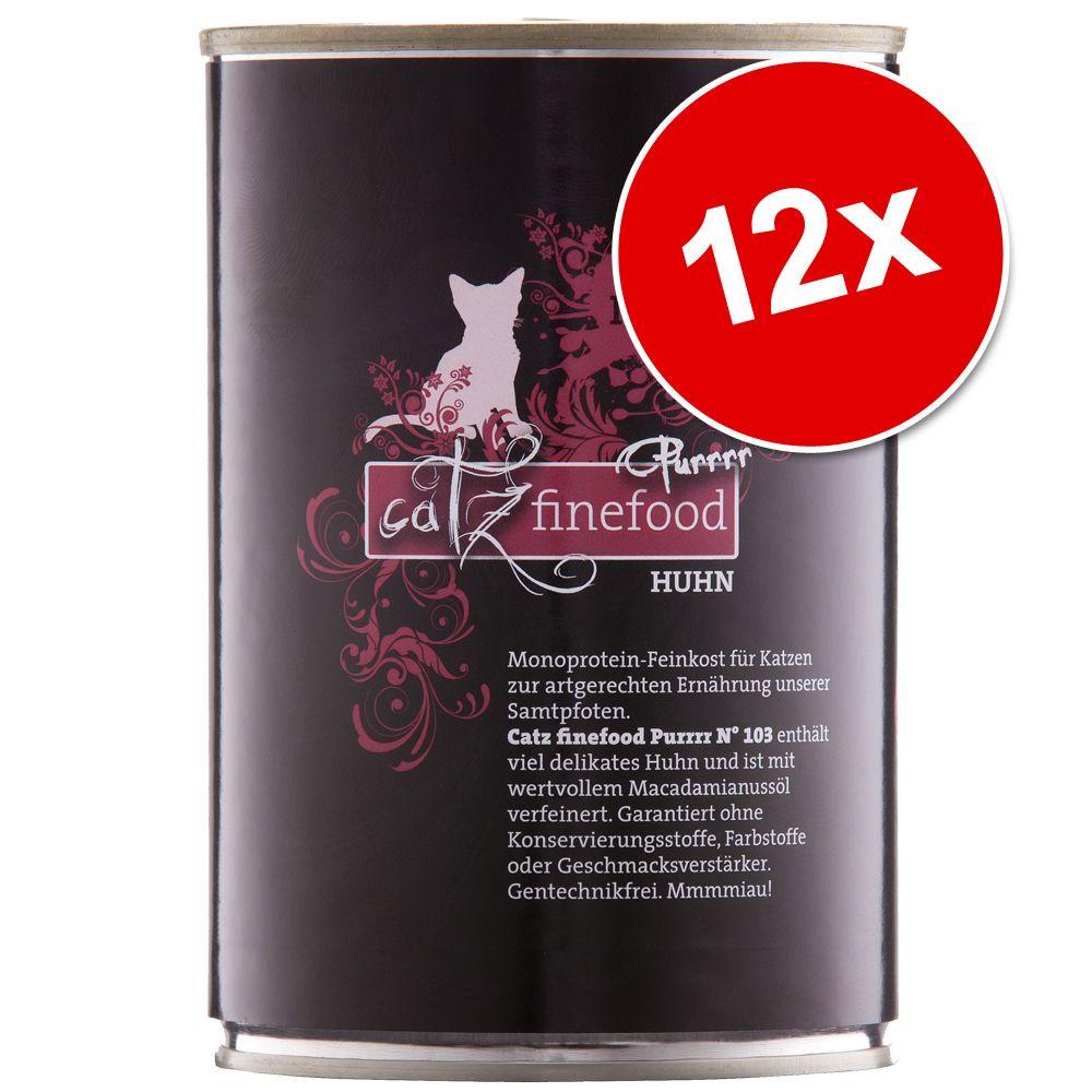 Foto Catz Finefood Purrrr 12 x 400/375 g - No. 113 Pecora (12 x 400 g) Multipack