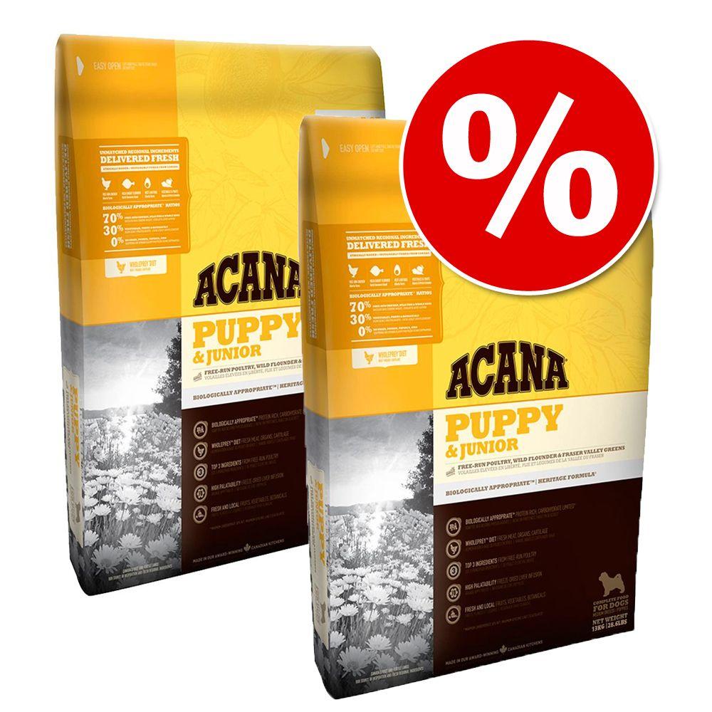 Image of Set risparmio! 2 x 11,4 kg Acana Dog - Senior